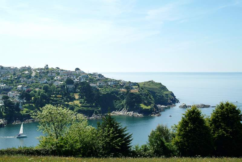 A view of Fowey which is only a short drive from the cottage and well worth a visit.