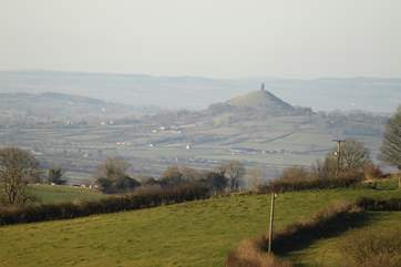 Glastonbury Tor is an iconic landmark in Somerset. It is well worth the steep walk to the top.