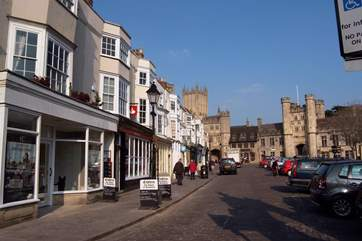 Wells, an historic Cathedral City, has plenty to offer for a great day out.
