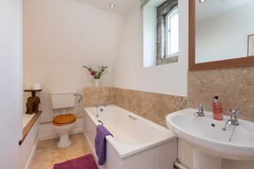 This is the bathroom on the first floor, it can be used as the dedicated bathroom for the first floor bedroom as there is another bathroom downstairs for those two bedrooms