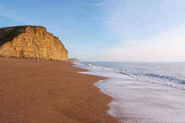 West Bay, the World Heritage Jurassic Coast, and filming location for Broadchurch.