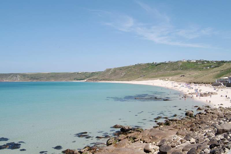 Sennen Cove - perfect for a day on the beach.