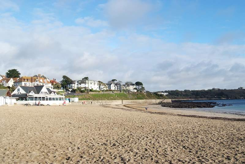 Gyllyngvase beach cafe in Falmouth is a must - wonderful views and scrumptious food.