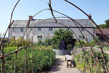 Book a course or a meal at River Cottage HQ - just outside of Lyme Regis.