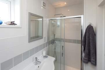 This is the ensuite shower-room for the double bedroom.