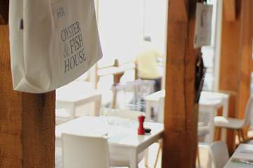 Eat at The Hix Fish & Oyster House in Lyme Regis.