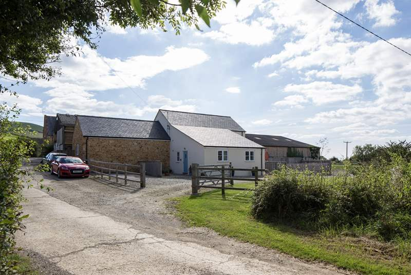 The Dairy is a new barn conversion, bright and cheerful inside and out.