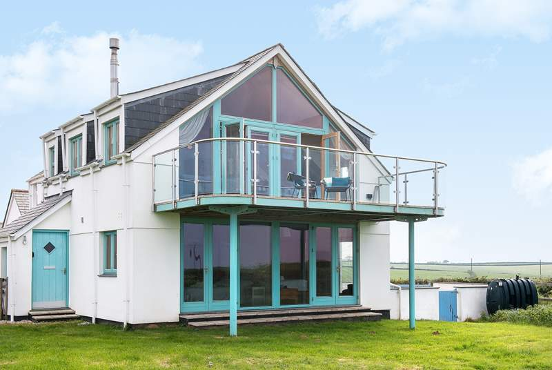 North Light has reversed accommodation to make the most of the fabulous views