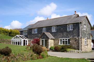 There are three Bed and Breakfast bedrooms in Largin Farmhouse (Little Largin is behind the farmhouse).