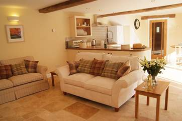 The open plan living-room is a fantastic room for all to enjoy.
