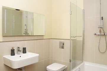 The lovely bathroom.