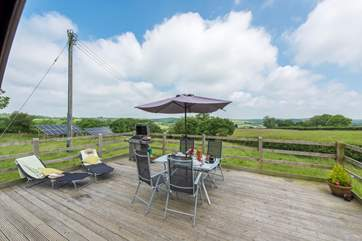 This really is a great spot to enjoy the views over Cornwall and Devon in the distance.