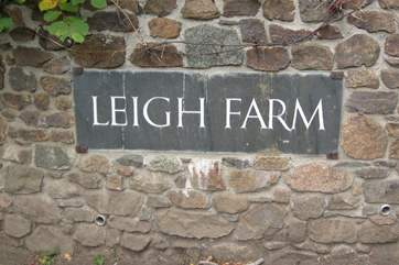Welcome to Leigh Farm.