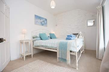 One of the pretty double bedrooms on the first floor,