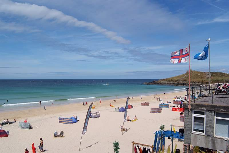 St Ives is just a few miles away.