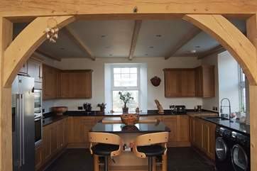 True craftmanship was involved in the recent refurbishment of this lovely old house.