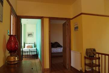 Looking across the landing towards the twin bedroom and Bedroom 4.