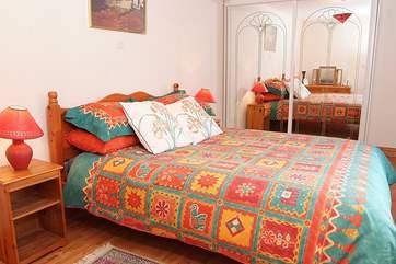This is the ground floor bedroom, Bedroom 1.