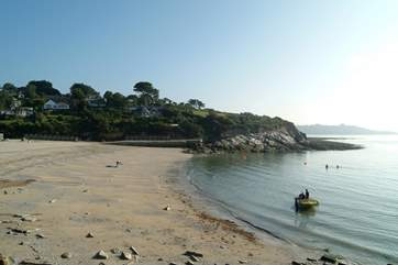 Falmouth's third sandy beach, Swanpool.