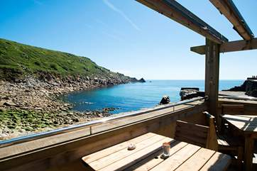 There is a lovely cafe on the Cove - a great place for lunch admiring the view and all just a short walk away.
