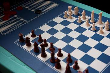Who will win a game of chess?