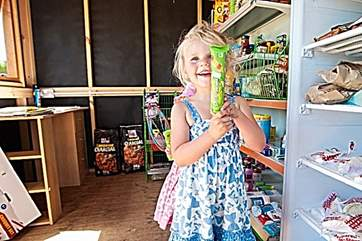 No doubt there will be regular visits to the on-site ice lolly store!