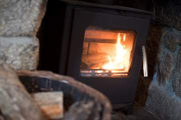 Warm and cosy.
