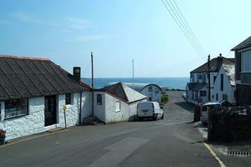 The friendly village pub is only a few yards away, beside the car park on Dolor Point.