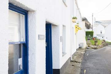 Penhaven sits on one of the little lanes just behind the harbour.