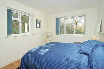 Bedroom 3 has a comfortable double bed and shares a shower-room with the twin room.