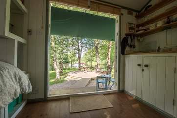Open up the double stable-doors and make the most of this beautiful and peaceful setting.