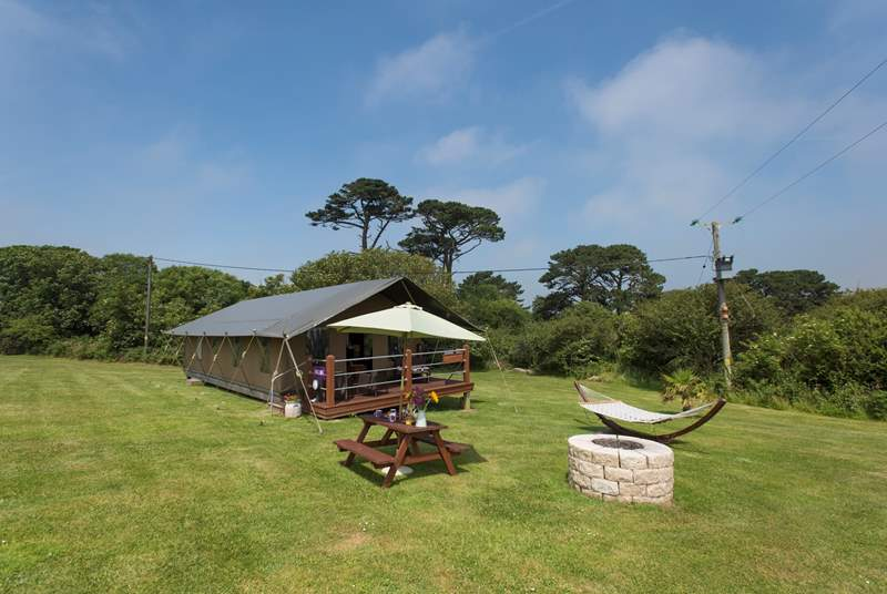 A fantastic setting for a truely memorable glamping holiday.