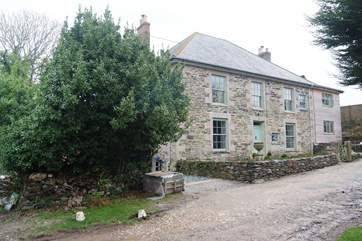 This stately old Georgian farmhouse has been lovingly renovated and immaculately furnished (picture taken during renovation; to be updated soon!).