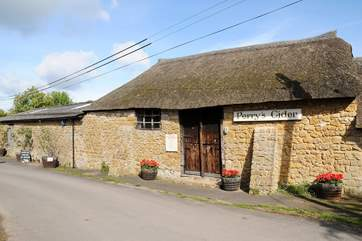There is a friendly visitor centre where you can learn about the cider making process - and better still, taste it! There is a little tea shop here too.