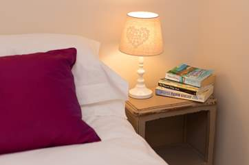 Pile up the holiday reading by the bed and enjoy a lie-in.
