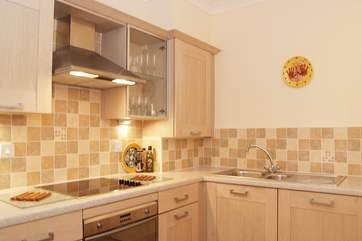 The fully fitted kitchen has everything you could need for your stay.