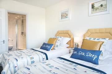 Bedroom 2 also has an en-suite