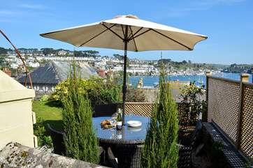 Enjoy a glass of wine or two in this glorious setting.