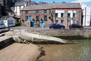 The Lugger Inn is one of two good pubs in Polruan.