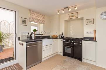 Enjoy using the range cooker - though there are plenty of pubs for good food within walking distance if you feel like a treat