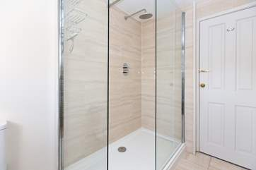 This is the large shower in the en suite shower-room for the master bedroom.