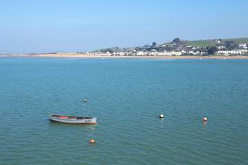 The coastal village of Instow faces Appledore - there is a little passenger ferry to take you back and forth.