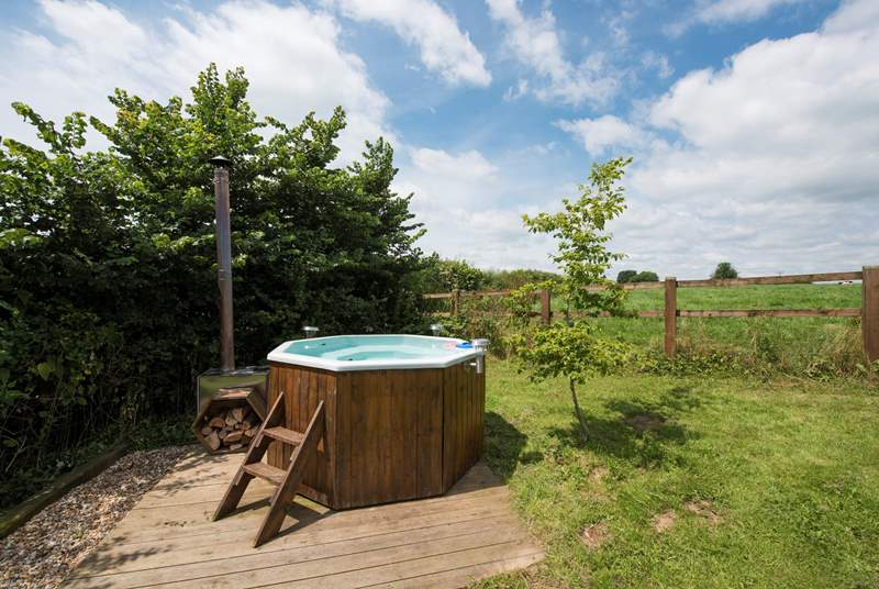 What a fabulous place to relax after a day exploring the walks and woodland surrounding.