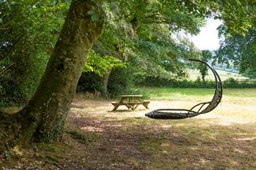 Take a picnic or relax on the hammock in the lower meadow, it's such a beautiful setting.