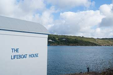 The old Lifeboat House is now a fish restaurant. (Please note closed in November and not open every day in winter months).