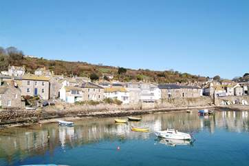 A trip to Mousehole just seven miles away and is the perfect way to spend a day.