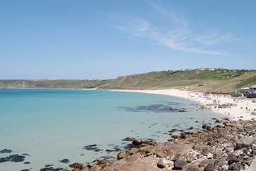 Sennen Cove is just 10 miles away, perfect for surfing and swimming.