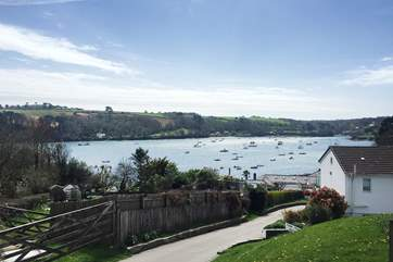 Walk or drive down to the Helford passage a few minutes from the house where you can join the coast paths in either direction and stop at the Ferry Boat Inn to try some local fish.