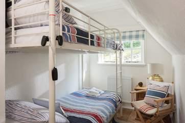 Bedroom 3 with bunk beds.