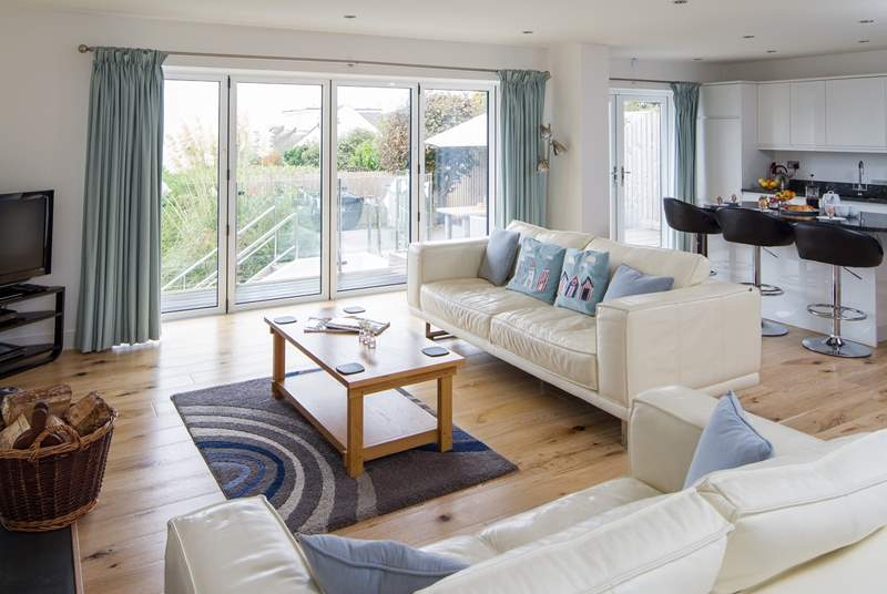 Lovely family space, great for those special get-togethers. With a lovely wood-burner for those cooler evenings.